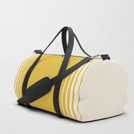 Marigold & Crème Vertical Gradient Duffle Bag