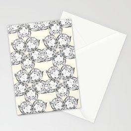 "series ""rostidade em mandala"" - girl Stationery Cards"