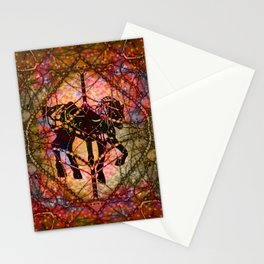 Tangleheart Carousel Stationery Cards