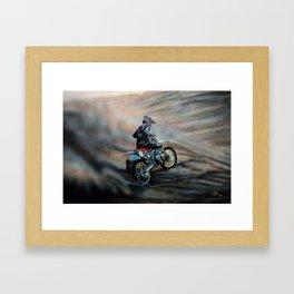 The Race II Framed Art Print