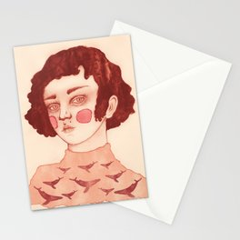 A Girl and her Whales Stationery Cards