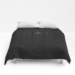14 Silicon - Atomic Poster Comforters