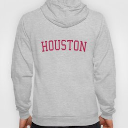 Houston Sports College Font Hoody