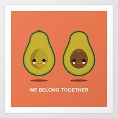 We Belong Together Art Print