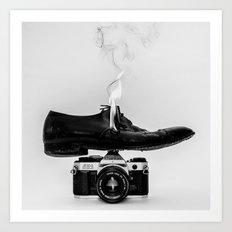 Hot Shoe Art Print