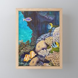 The Gathering - Coral Reef Framed Mini Art Print