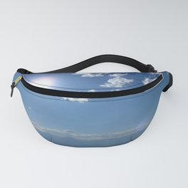 California into Nevada view Fanny Pack