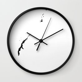 balloon as vase 1/4 Wall Clock