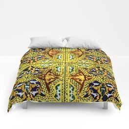 Arabic Tiles Comforters