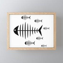 Shoal Framed Mini Art Print