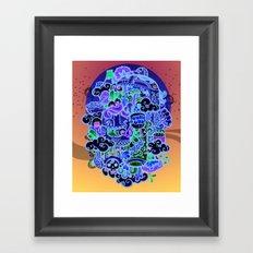 Midnignt Hunger Framed Art Print
