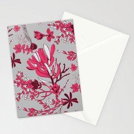 Fuchsia Cradle Flora Stationery Cards
