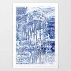 Ice Scape 1 Art Print