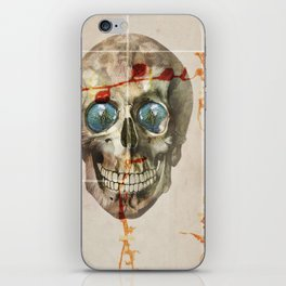 skull#04 iPhone Skin