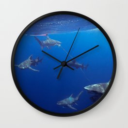 Shark Squad Wall Clock