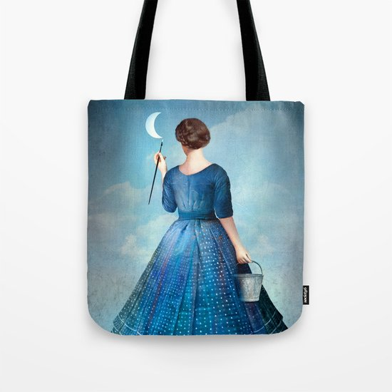 Nachtmalerei Tote Bag
