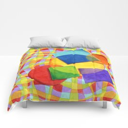 Candy Rainbow Circus Comforters