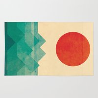 a lot of cats Area & Throw Rugs featuring The ocean, the sea, the wave by Picomodi