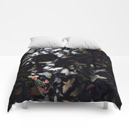 Butterfly And Skull Comforters