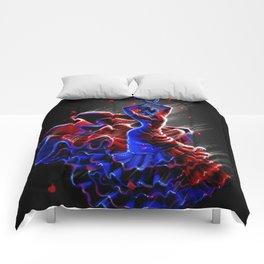 Fire Rose Comforters