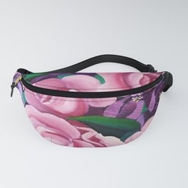 Bougainvillea with Roses Fanny Pack