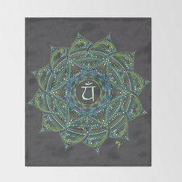 Heart Chakra Throw Blanket