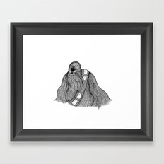 A Wookie Framed Art Print