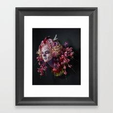 Spring Muertita Side Framed Art Print