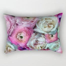 Romantic flowers I Rectangular Pillow