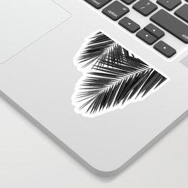 Palm Leaf Black & White II Sticker