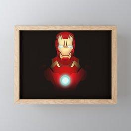 Iron Man Framed Mini Art Print
