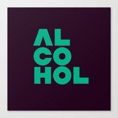 Alcohol Canvas Print