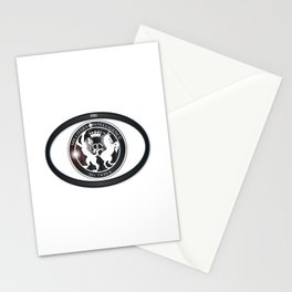 MI6 Oval Badge (Millitary Intelligence Section 6) Stationery Cards