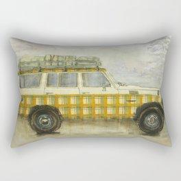 Plaid Land Cruiser Rectangular Pillow