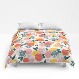 Citrus crush Comforters