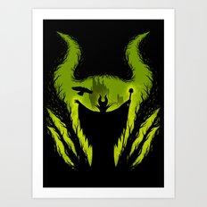 The Evil Fairy Art Print