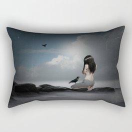 solitary confinement  Rectangular Pillow