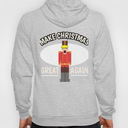 Christmas Anti Trump Nutcracker funny gift Hoody