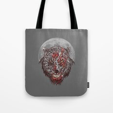 Zombie Wolf Tote Bag