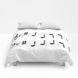 Music Chord Comforters