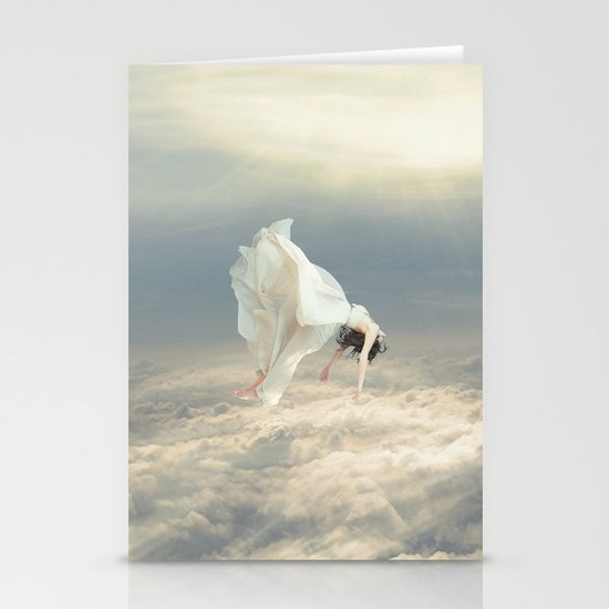 Free Falling Dream Stationery Cards