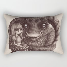 'Moe and the Captain' Rectangular Pillow