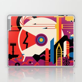 NASA Retro Space Travel Poster #9 Mars Laptop & iPad Skin