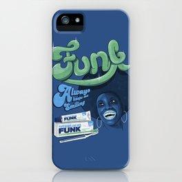 FUNK - ALWAYS KEEPS ME SMILING iPhone Case