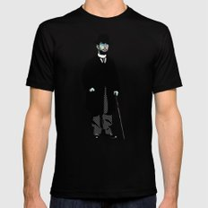 Toulouse Lautrec Mens Fitted Tee LARGE Black