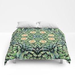 Succulent Splendor Comforters