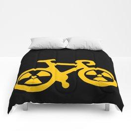 Radioactive Bicycle Comforters