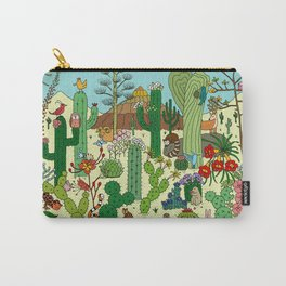 Arizona Desert Museum Carry-All Pouch