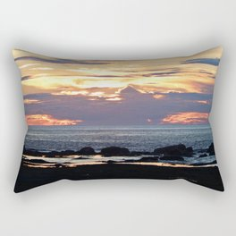 Firestorm Ends the Day Rectangular Pillow