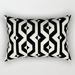 Modern bold print with diamond shapes Rectangular Pillow